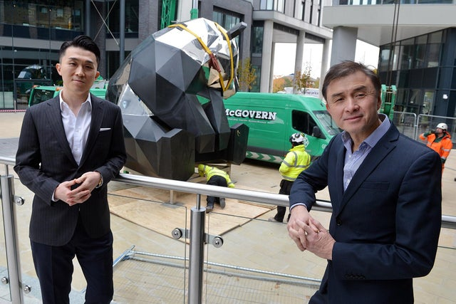 Jerry Cheung and Rongmin Qin, Directors at New Era Development (UK) Ltd